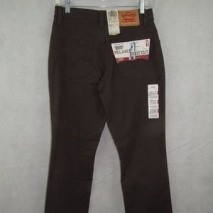 Levis Jeans Size 4 M Boot Cut Relaxed Stretch New